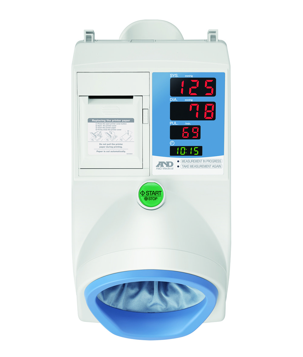 A&D TM-2657P Waiting Room Blood Pressure Monitor with FREE stand