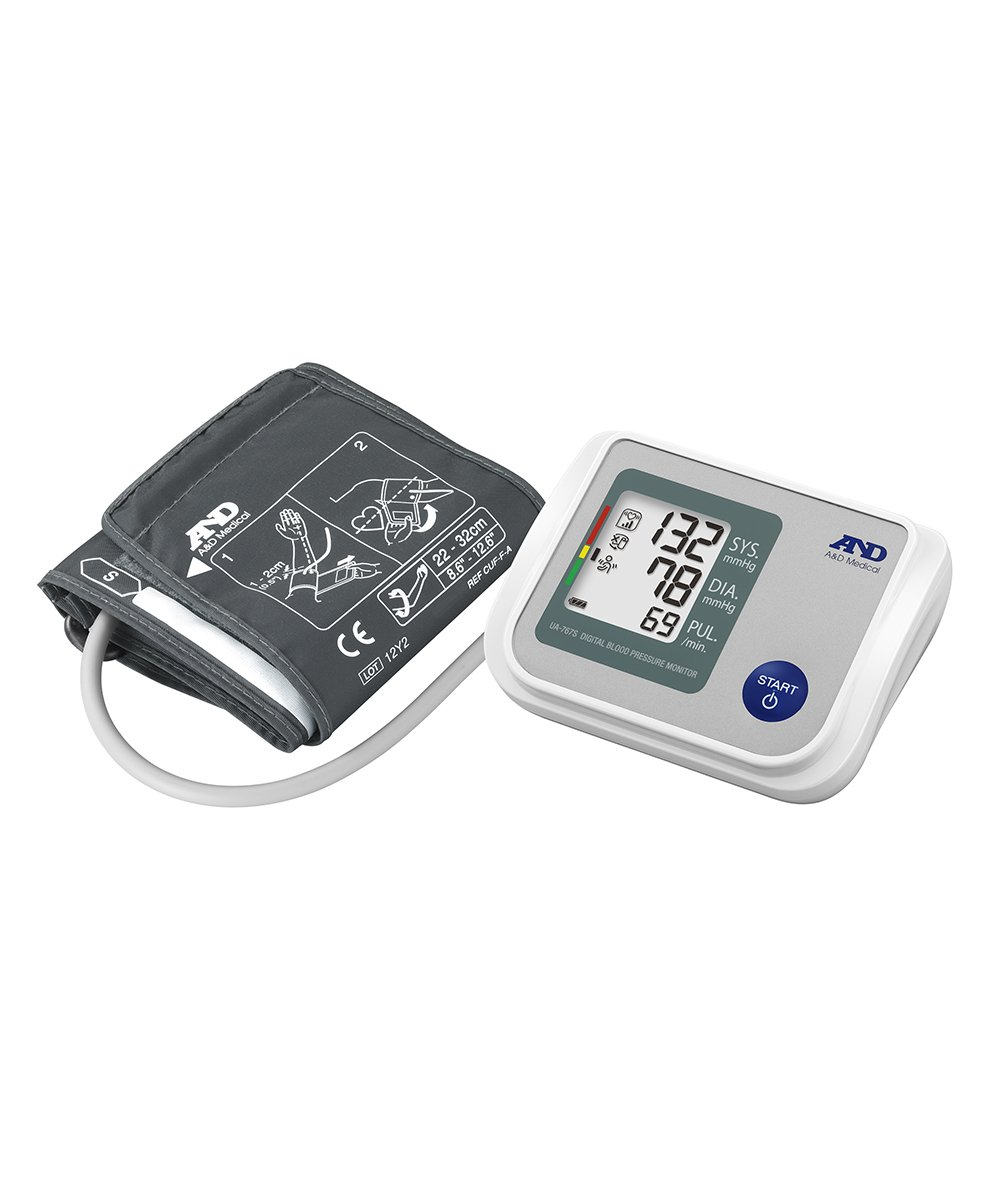 A&D UA-767S Upper Arm Blood Pressure Monitor with Afib Screening