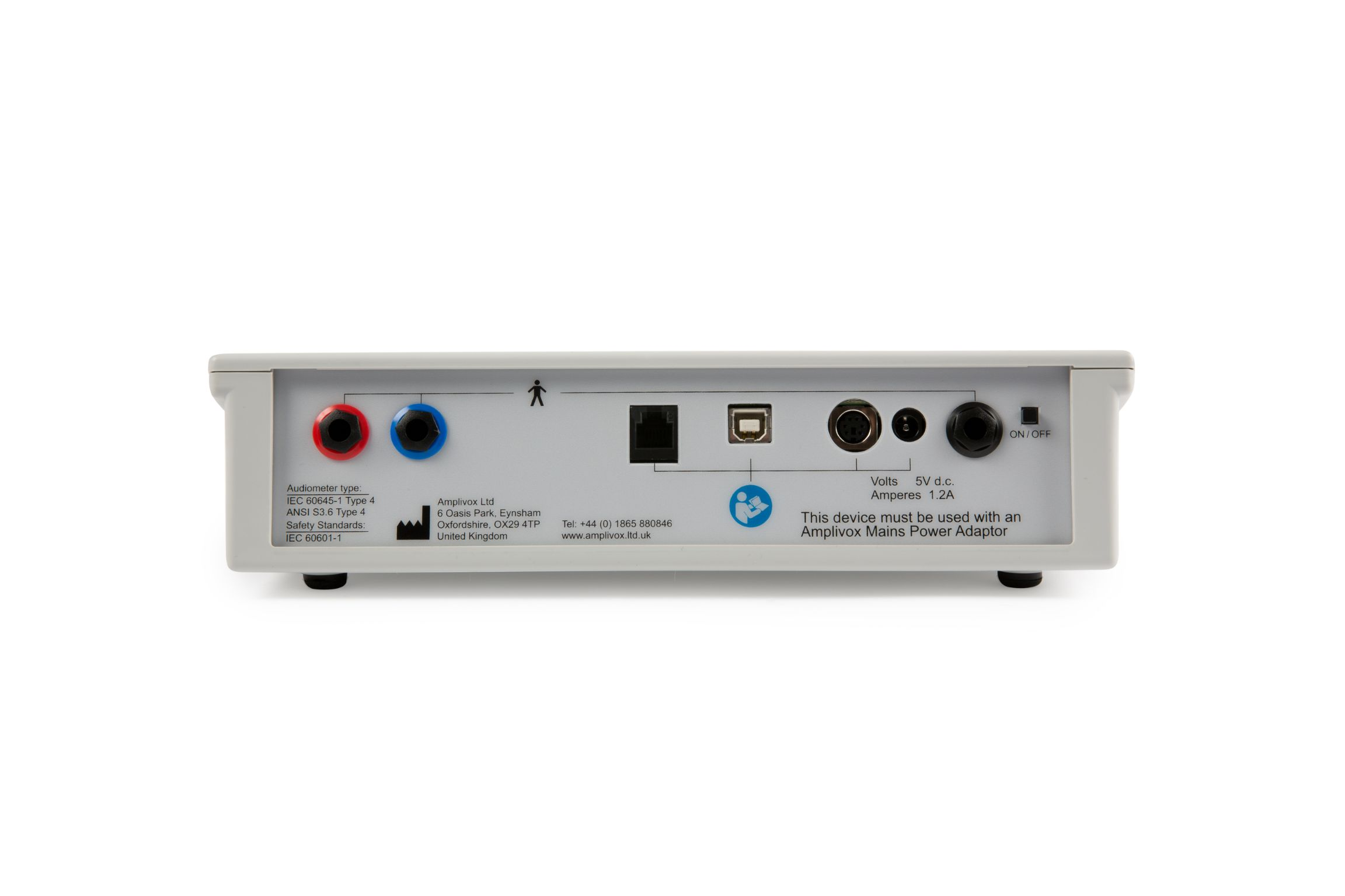 Amplivox 116 Screening Audiometer with Battery Function