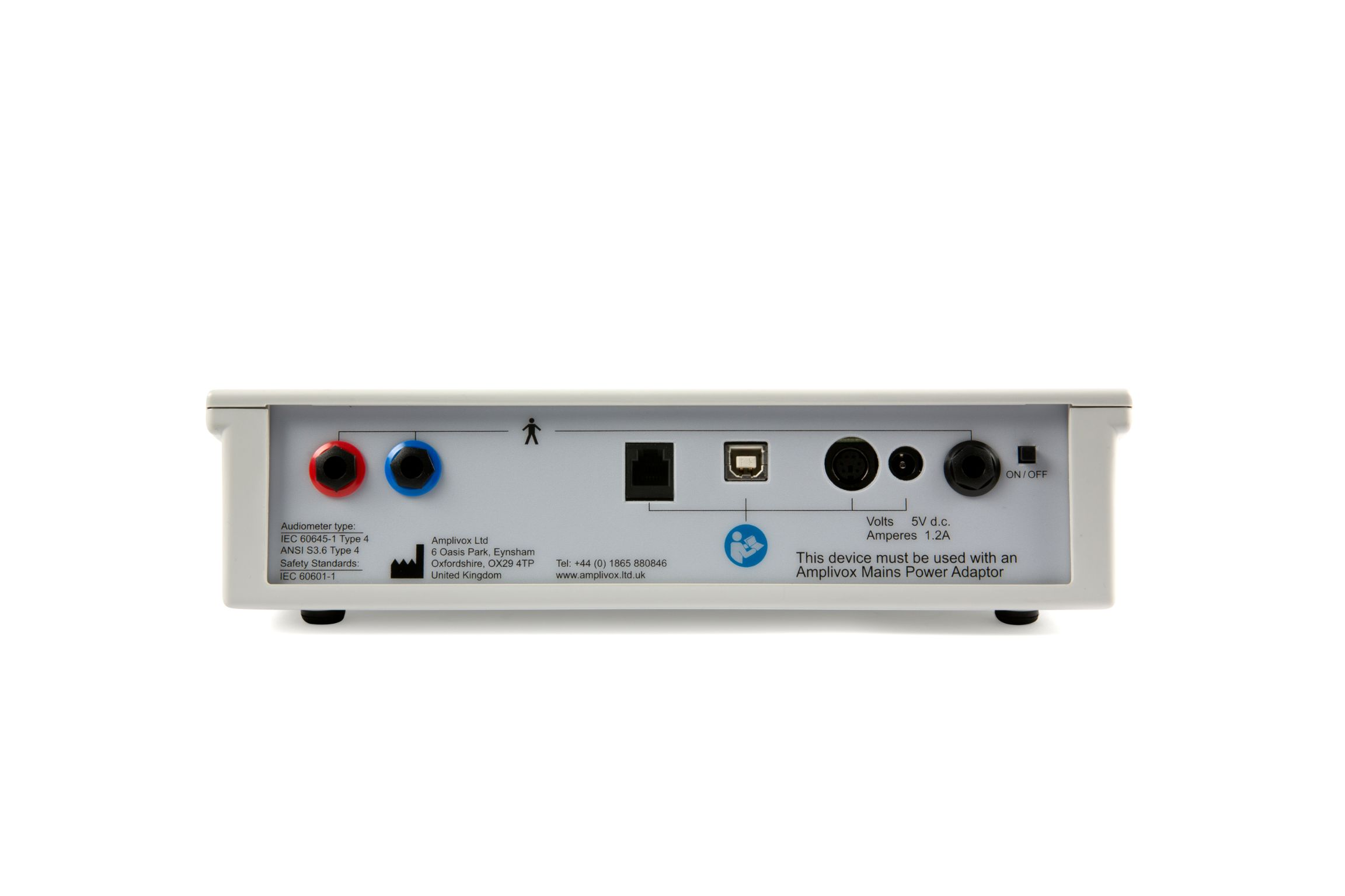 Amplivox 170 Screening Audiometer with Audiocups