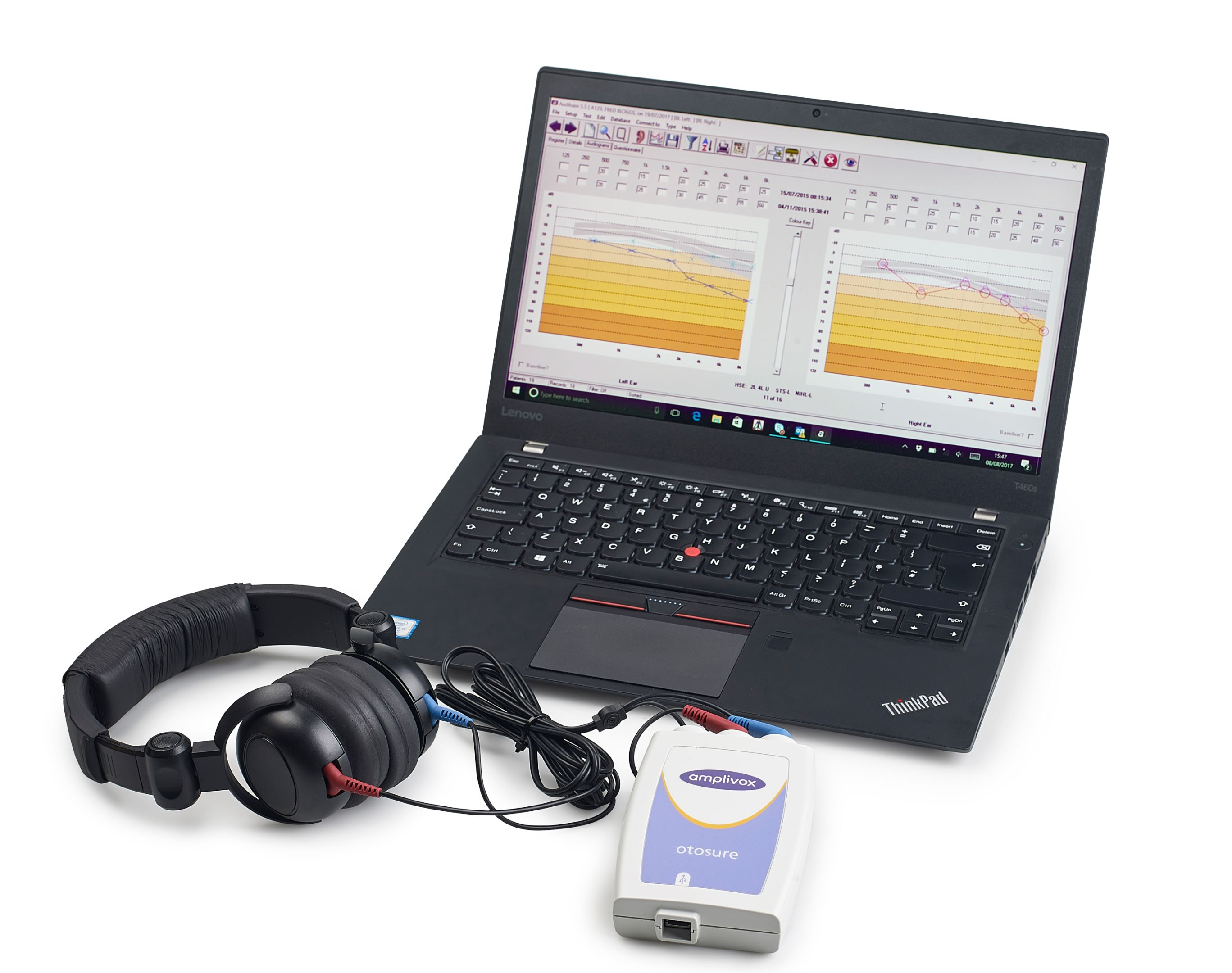 Amplivox Otosure Screening Audiometer with Audiocups