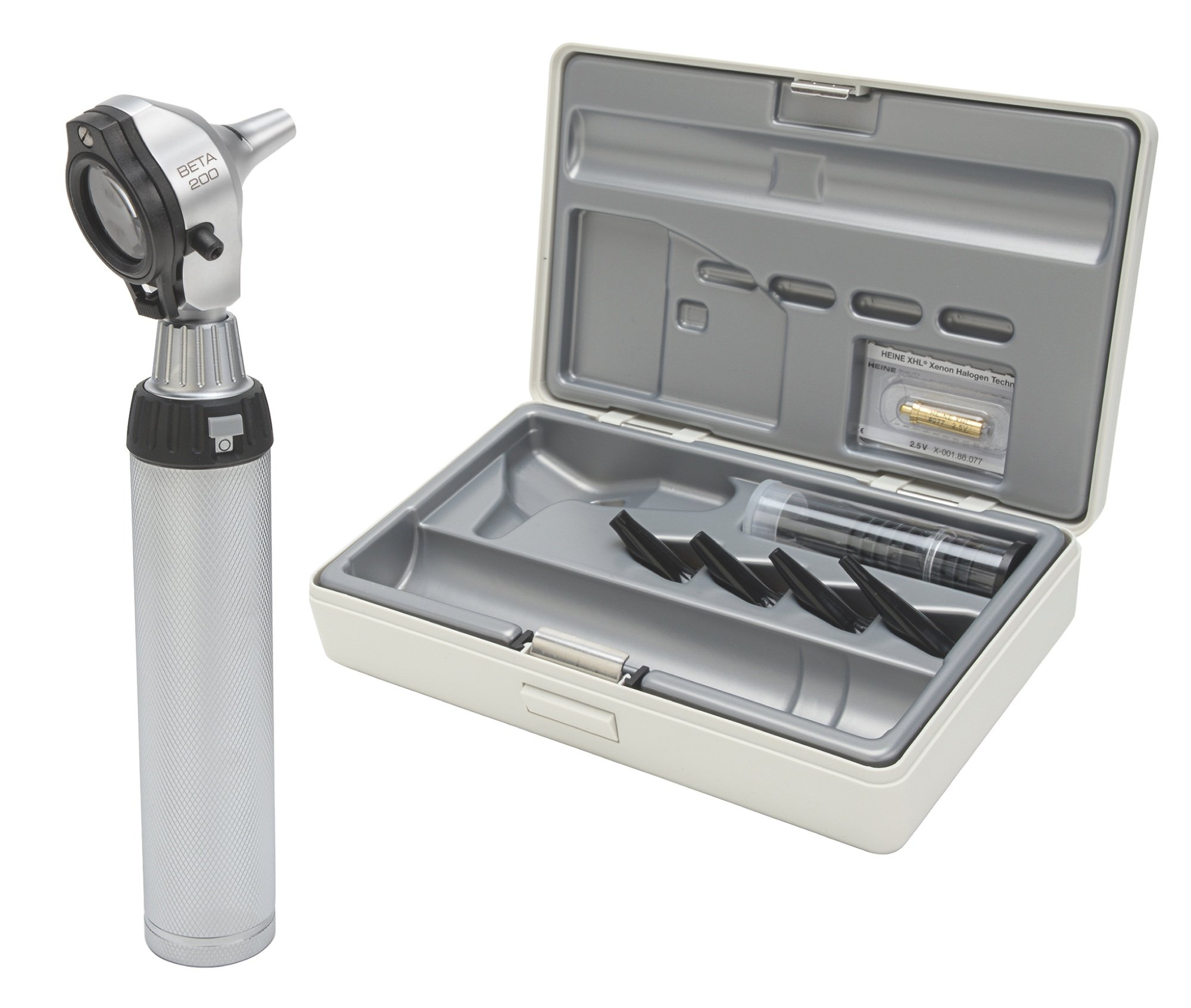 HEINE BETA 200 F.O Otoscope Set with battery handle
