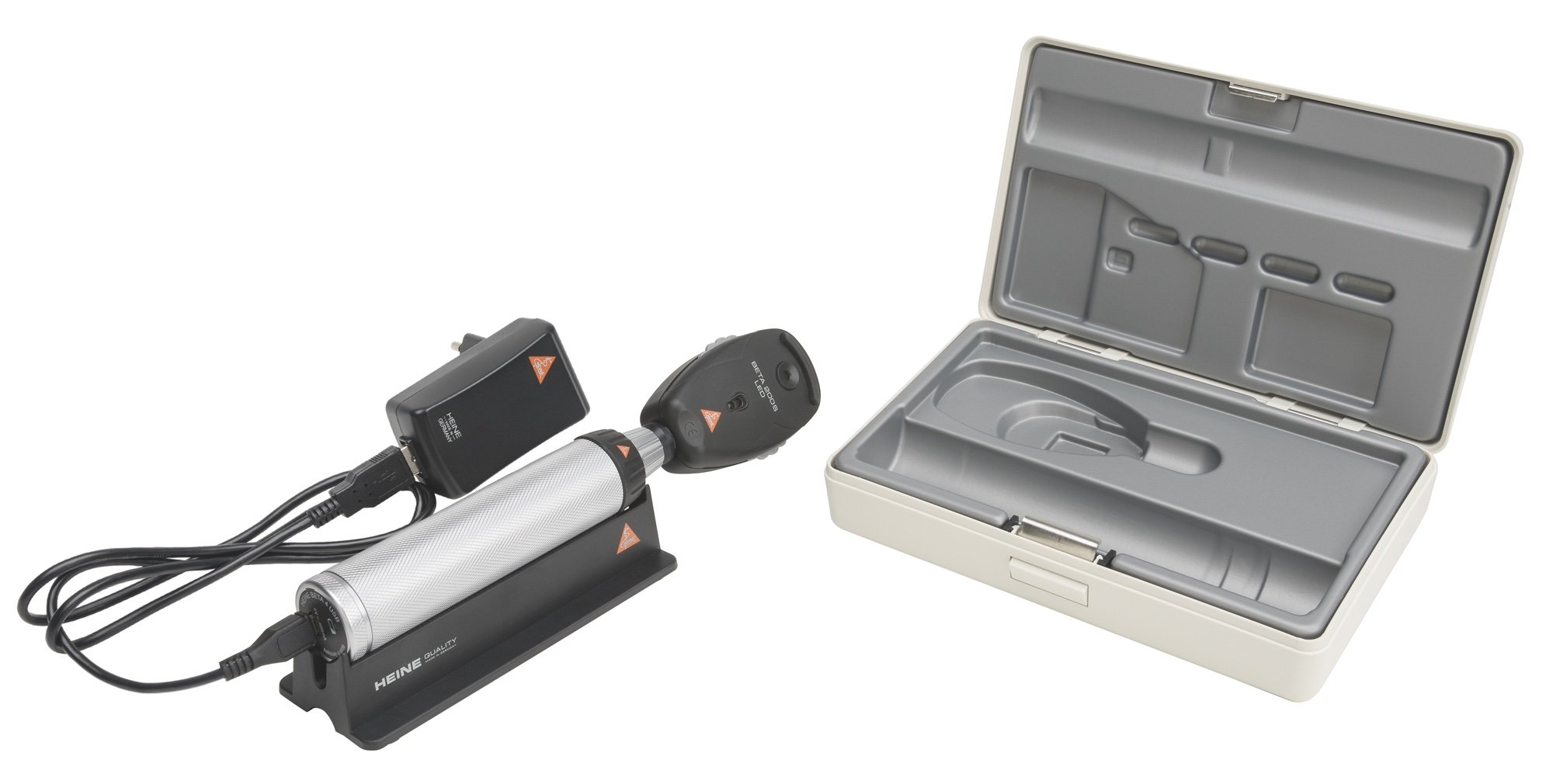 HEINE BETA200 S LED Opthalmoscope Diagnostic Set with USB rechargeable Handle