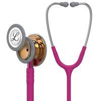 3M™ Littmann® Classic III™ Monitoring Stethoscope, High Polish Copper Chestpiece, Raspberry Tube, Pink stem, 5647 - Limited Edition