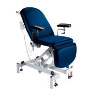 Sunflower Fusion Phlebotomy Chair - Electric Height Adjustment, Electric Back & Foot Sections