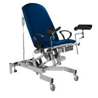 Sunflower Fusion GYNAE, 2 Section Electric Couch, Powered Back, Powered Tilting Seat, Arm Supports & Leg Supports