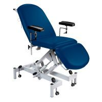 Sunflower Fusion Drop End Multi-Discipline Couch, Hydraulic Height Adjustment, Gas Assisted Head and Foot Sections