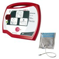 Rescue SAM Semi-Automatic AED Defibrillator with Adult Pads