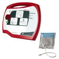 Rescue SAM Fully-Automatic AED Defibrillator with Adult Pads