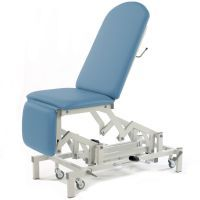Seers Medicare Multi- Couch with Hydraulic Height Elevation, Gas Assisted Backrest and Single Footrest