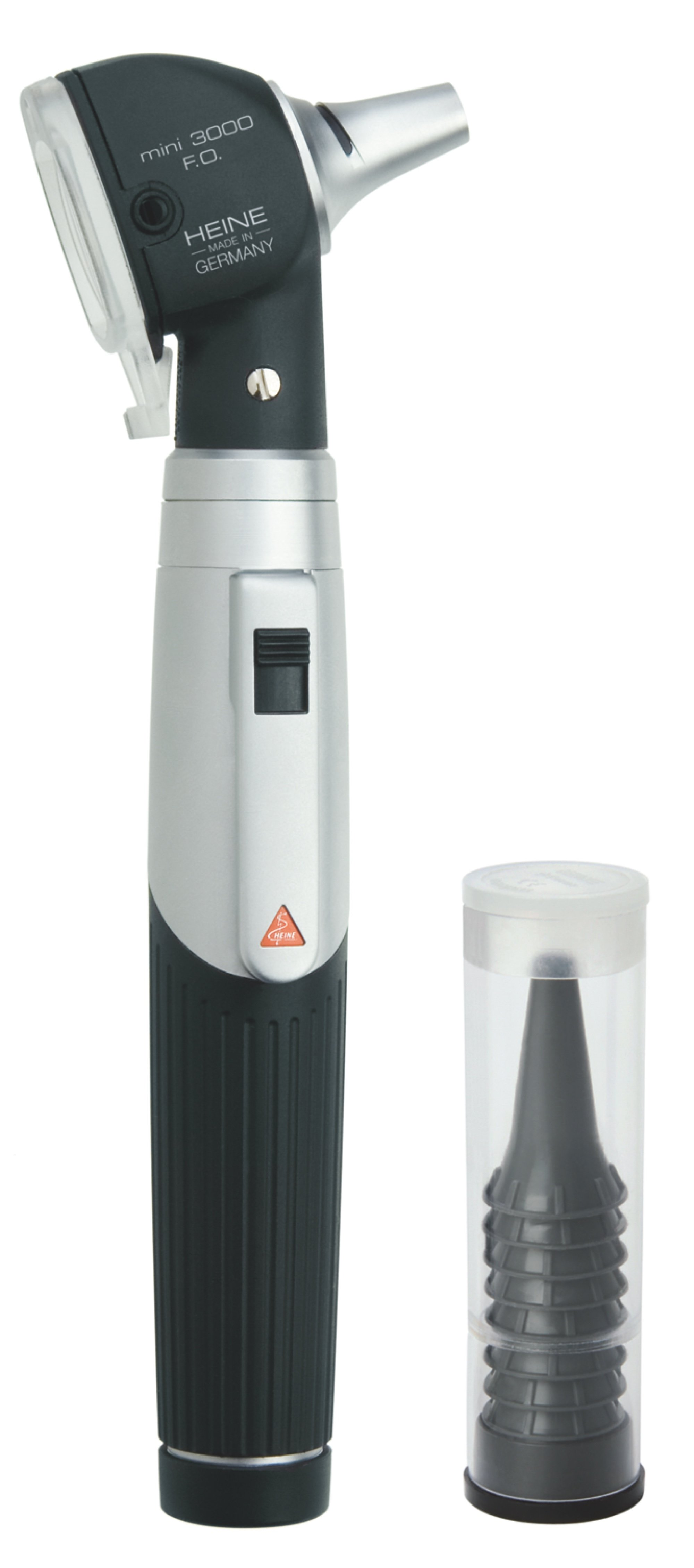 HEINE mini3000 F.O Otoscope Set with battery handle with Disposable tips