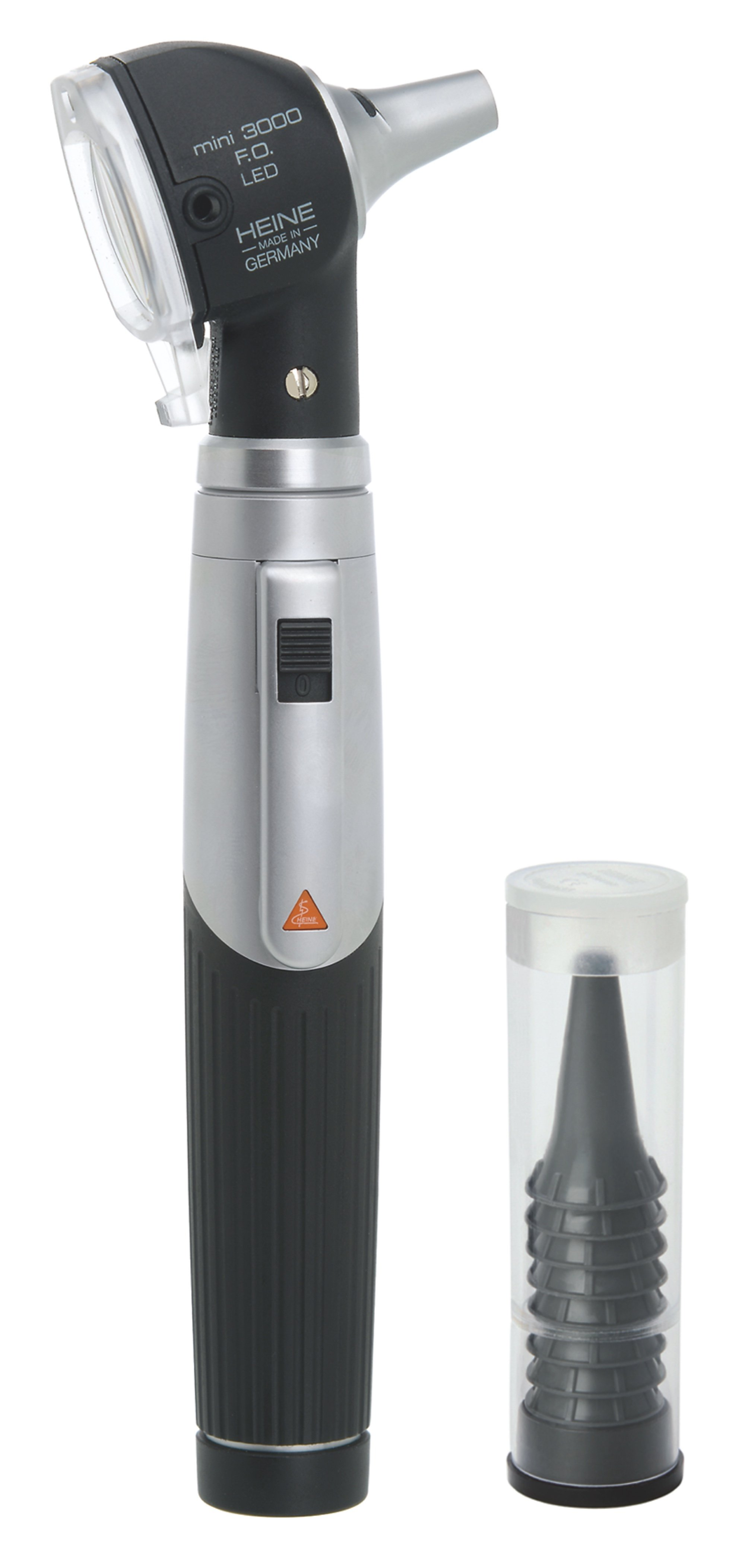 HEINE mini3000 LED Otoscope with battery handle & Disposable tips