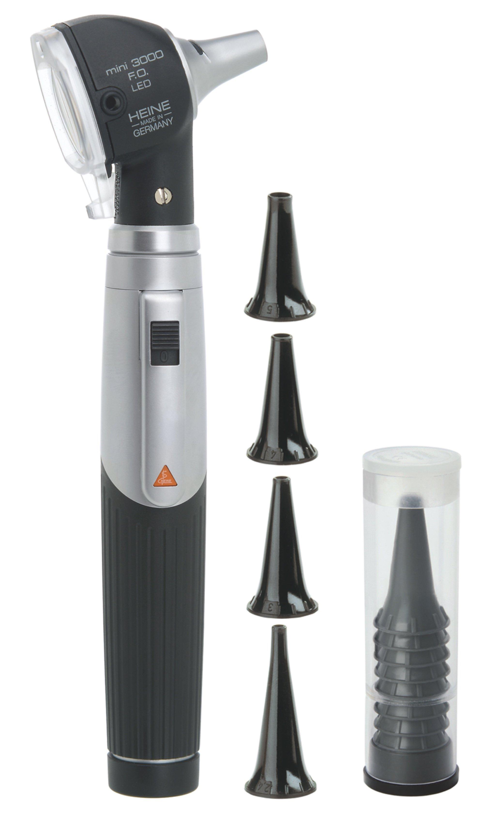 HEINE mini3000 LED Otoscope Set with battery handle