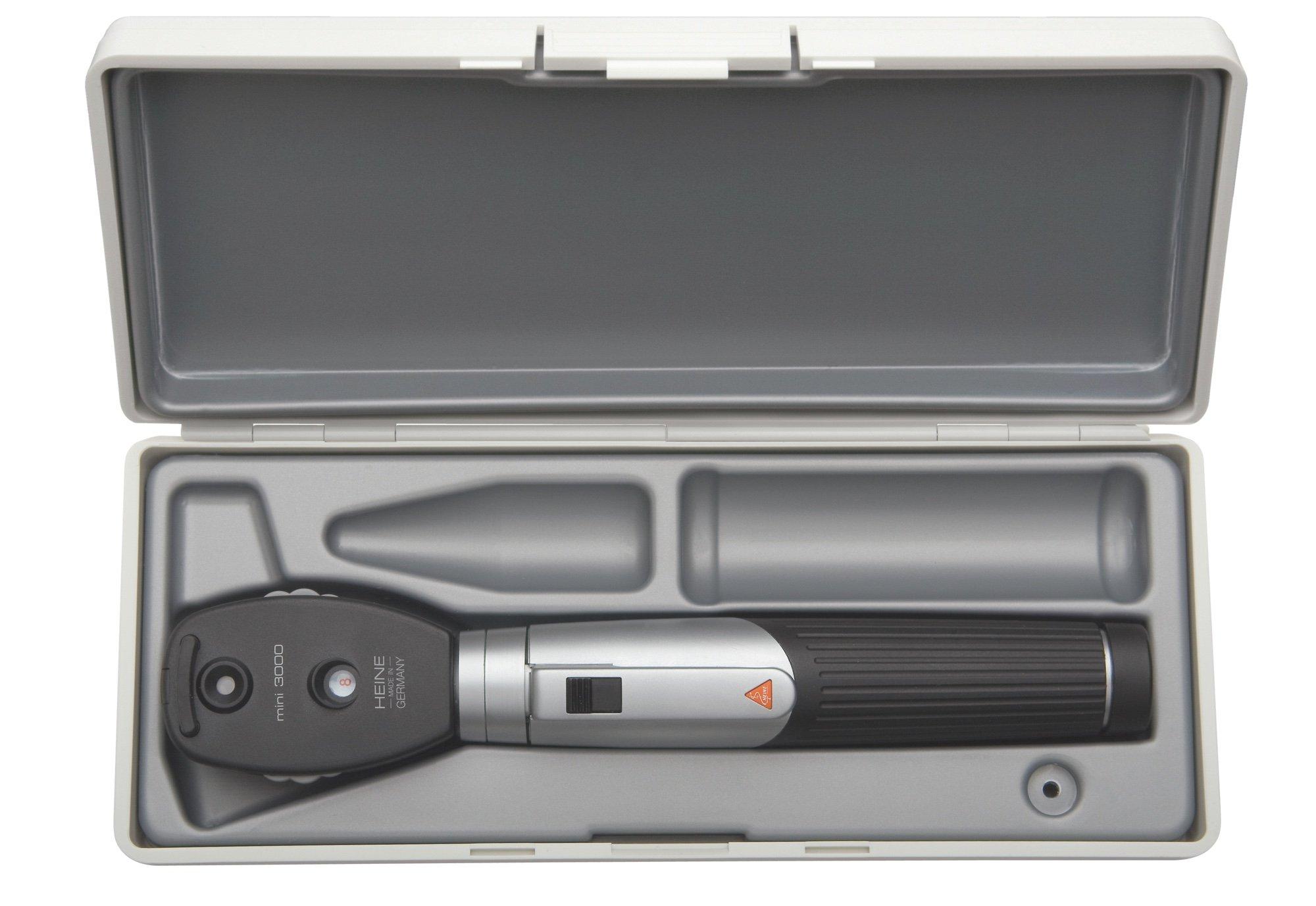 HEINE mini3000 Opthalmoscope set in hard case