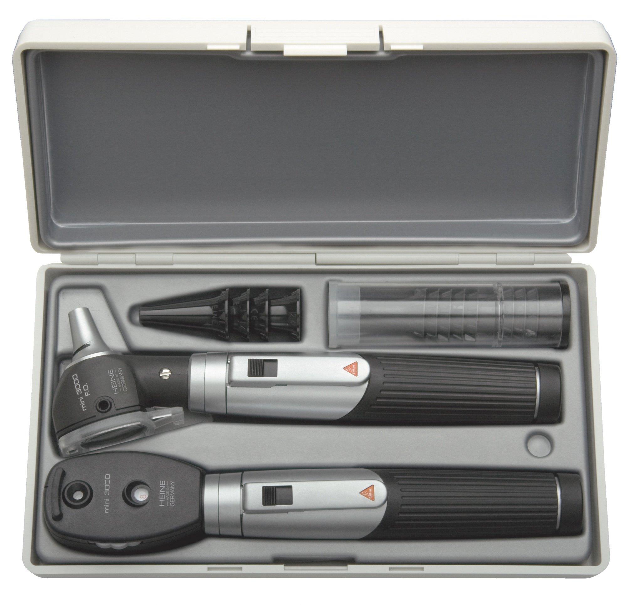 HEINE mini3000 F.O Otoscope/Ophthalmoscope Combined Set