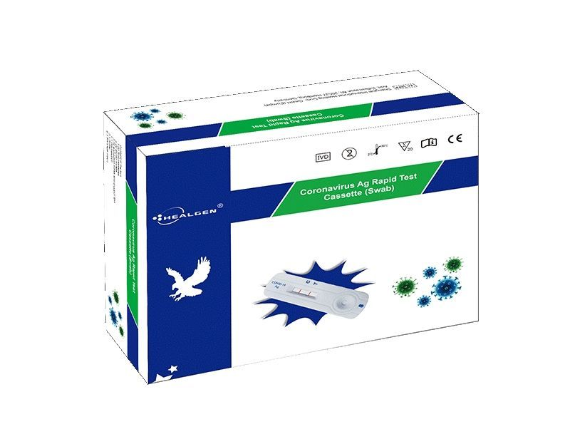 Healgen COVID-19 Lateral Flow Rapid Antigen Test (Box of 20 tests)