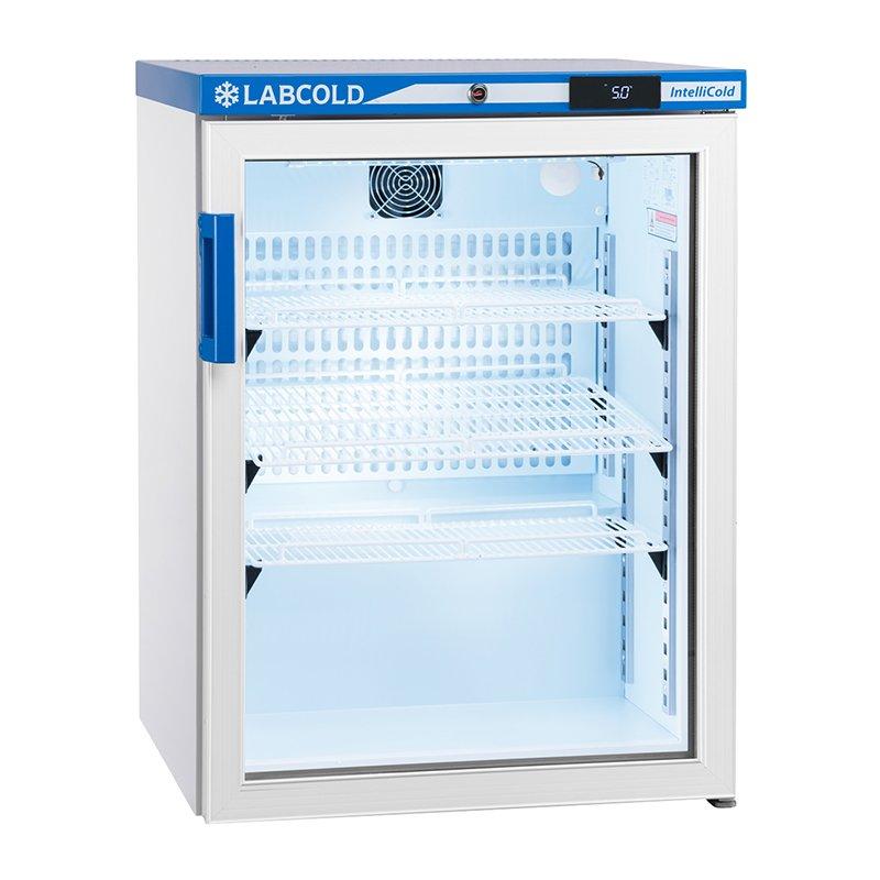 LABCOLD Undercounter Fridge Glass Door 150 Litres