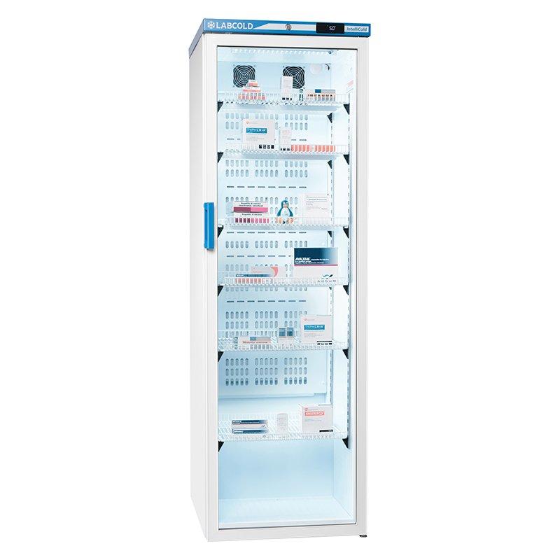 LABCOLD Pharamacy Fridge Glass Door 440 Litres