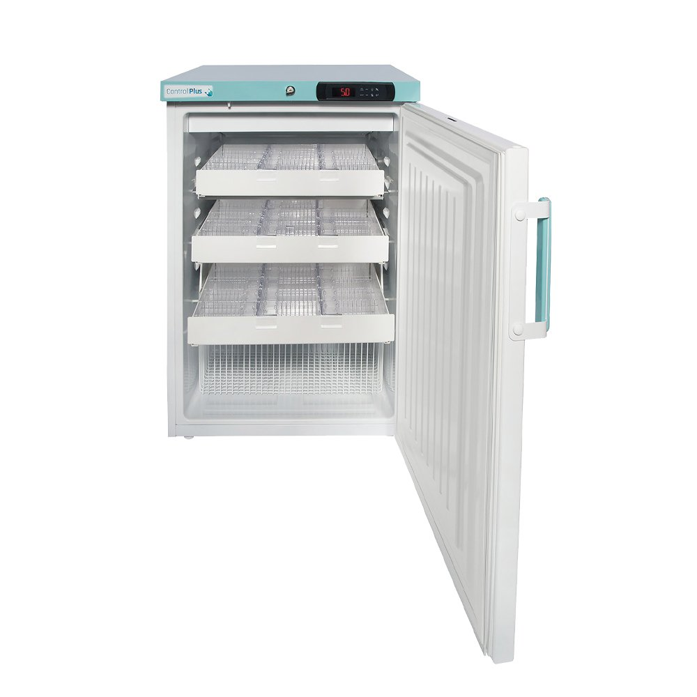 LEC PPSR158UK-DWP Under Bench 158L Pharmacy Fridge with Sliding Draws (Solid Door)