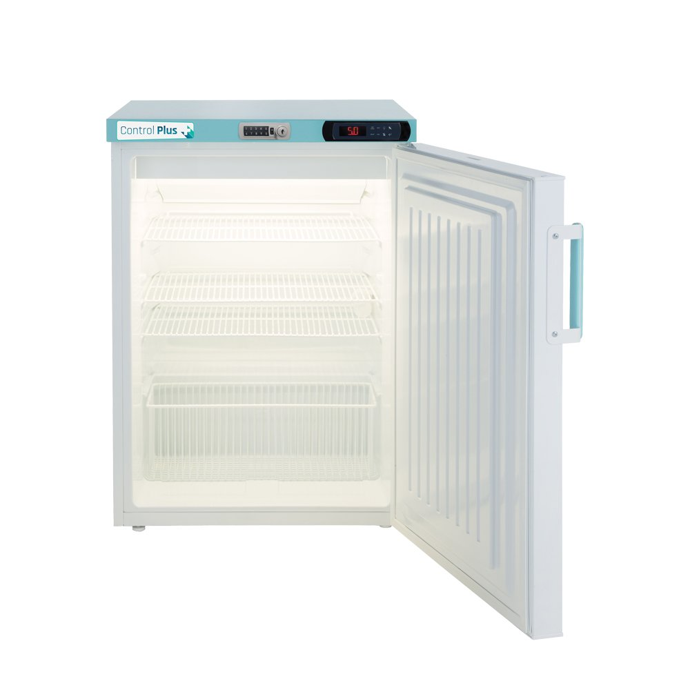 LEC PPSR158UK-DLK Under Bench 158L Pharmacy Fridge with Digital Door Lock (Solid Door)