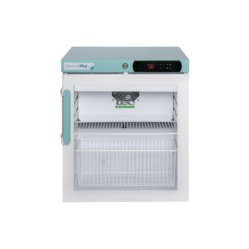 LEC PPGR47UK Bench Top 47L Pharmacy Fridge (Glass Door)