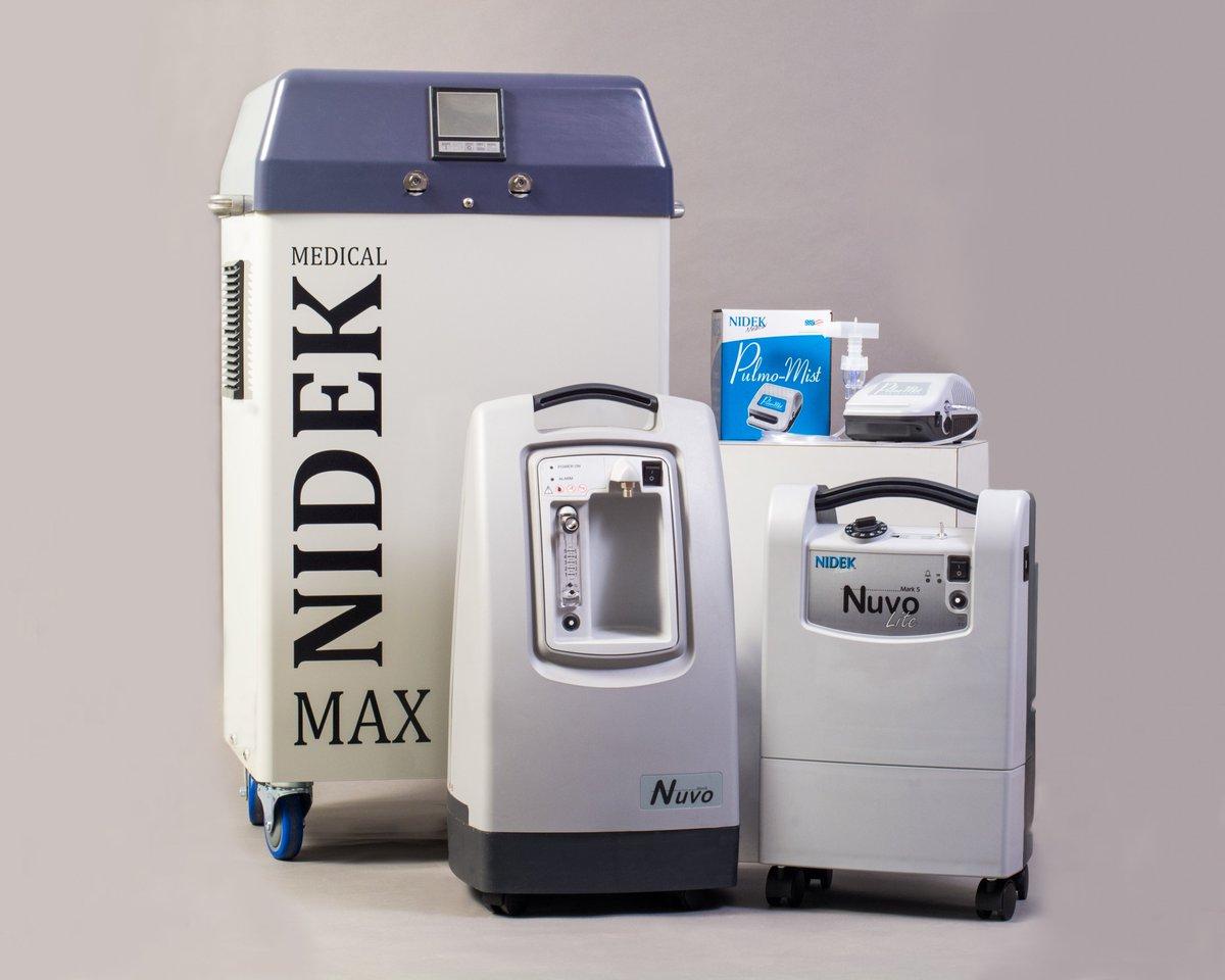 NIDEK Nuvo 10 Medical High Flow Oxygen Concentrator