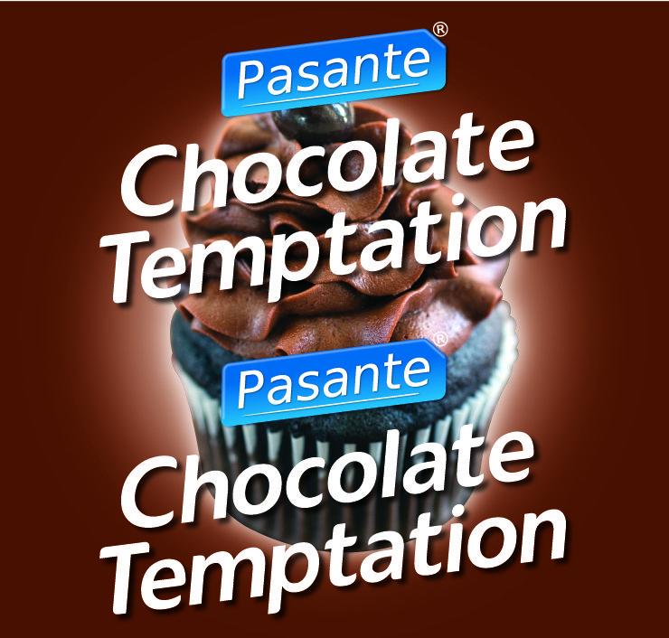 Pasante chocolate temptation condoms, bulk pack (pack of 144)