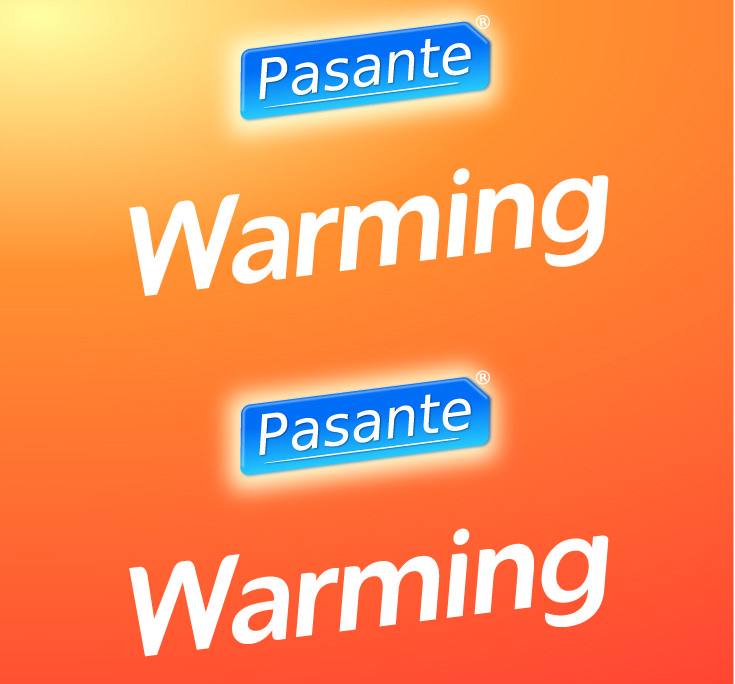 Pasante warming sensation condoms, bulk pack (pack of 144)