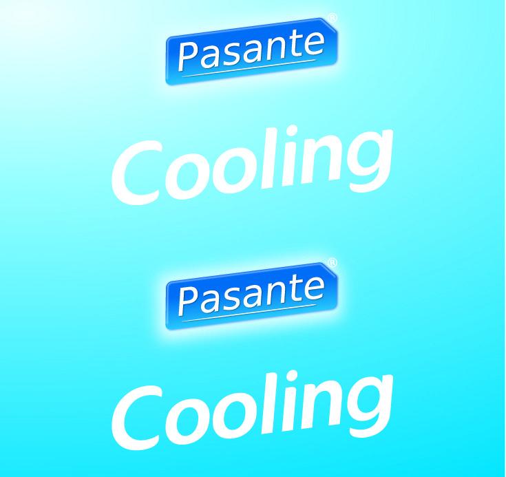 Pasante cooling sensation condoms, bulk pack (pack of 144)