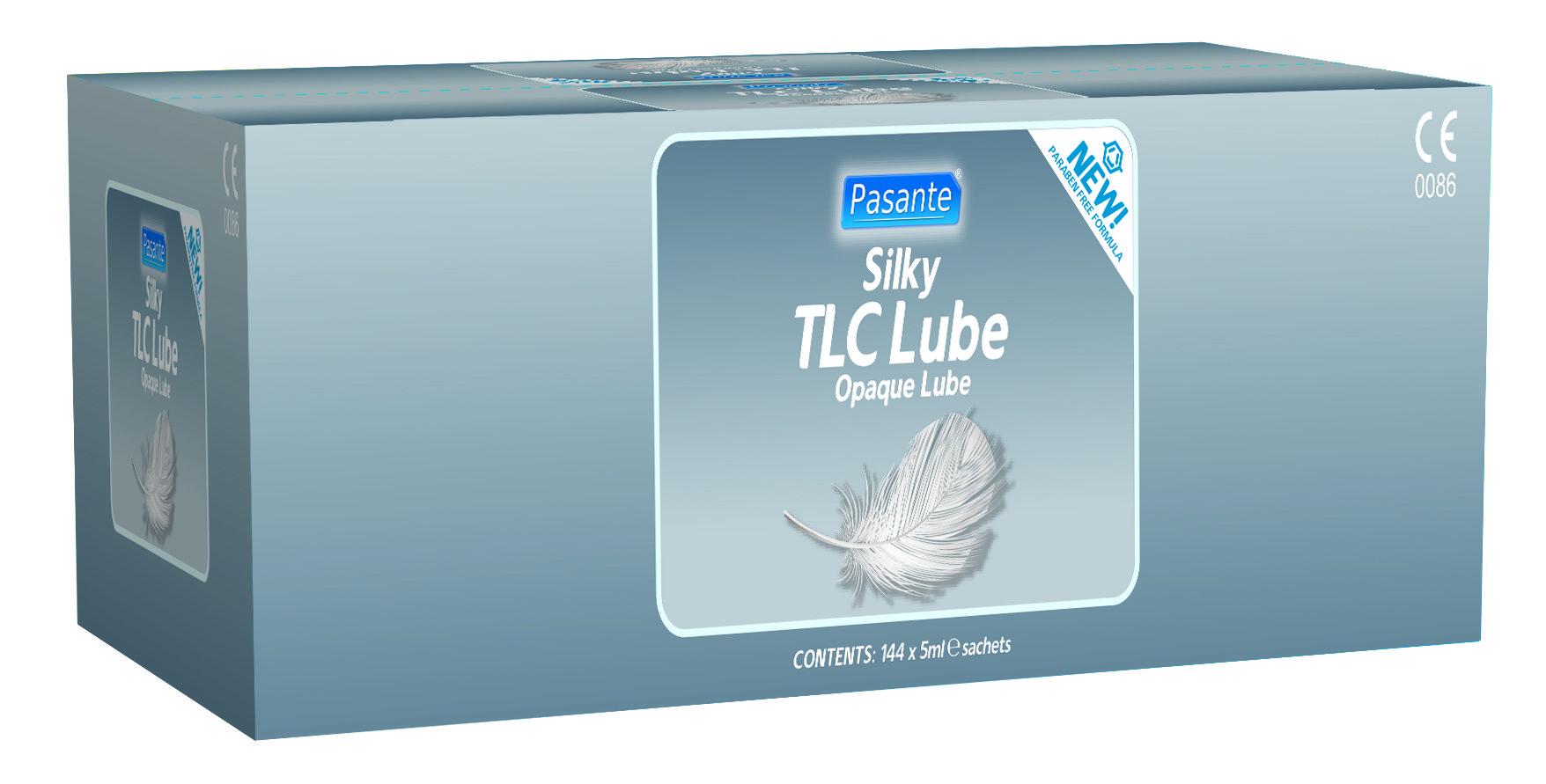 Pasante TLC lube 5ml sachets X 144 - paraben free