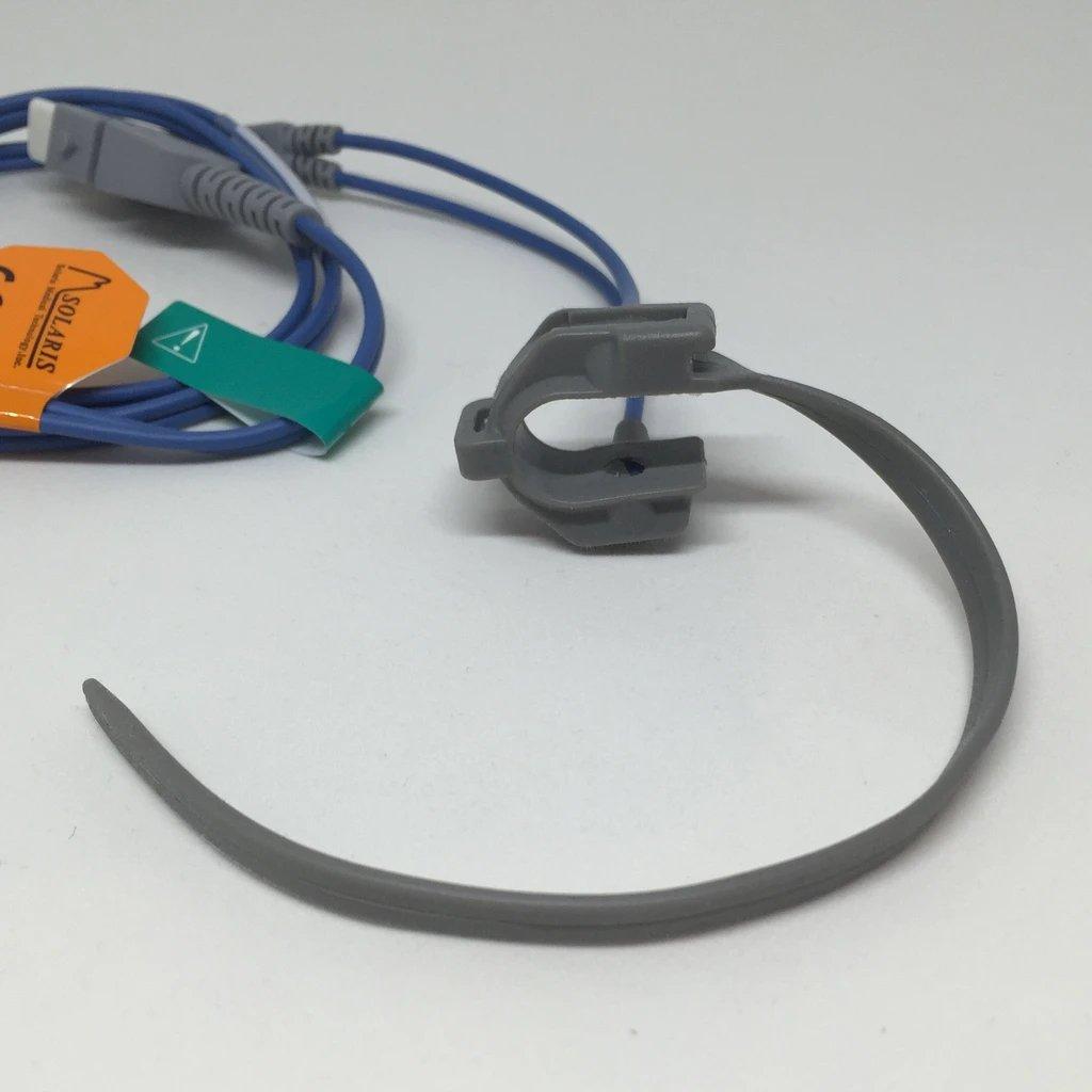 BCI-compatible SpO2 Wrap Sensor: Adult to Neonatal (cable length: 90cm)