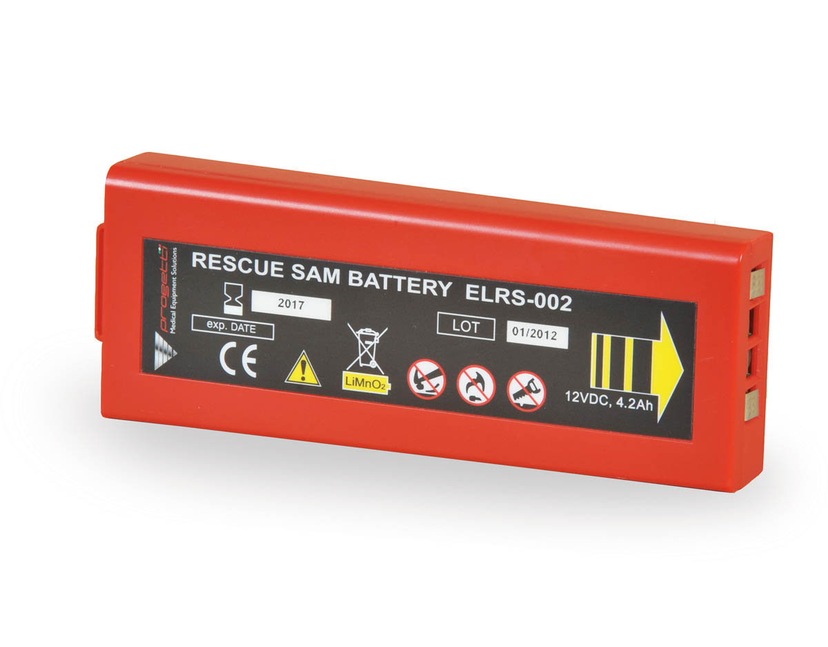 Rescue SAM Disposable Long-Life Battery