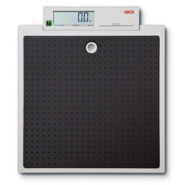 SECA 877 Robust Light Flat Scale with Integrated Display