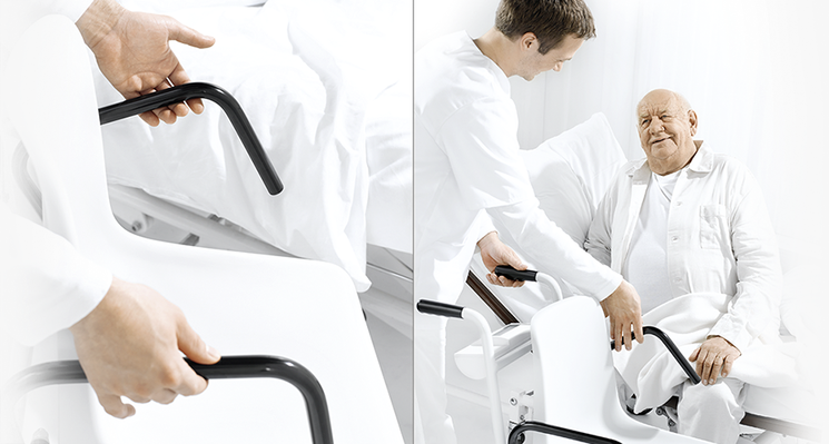 SECA 959R Electronic chair scales with RS232 Connectivity