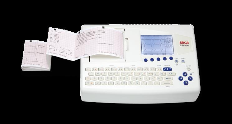 SECA CT8000i Interpretive ECG Monitor