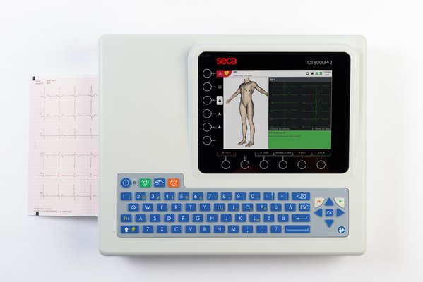 SECA CT8000P- 2 Interpretive ECG Monitor