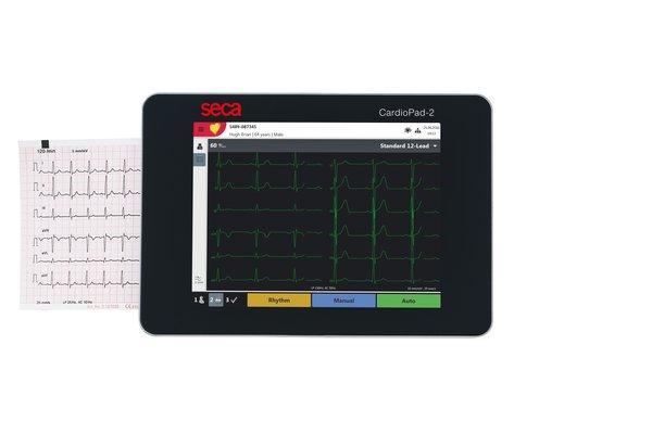 SECA CTCardioPad 2 Touch-Screen ECG