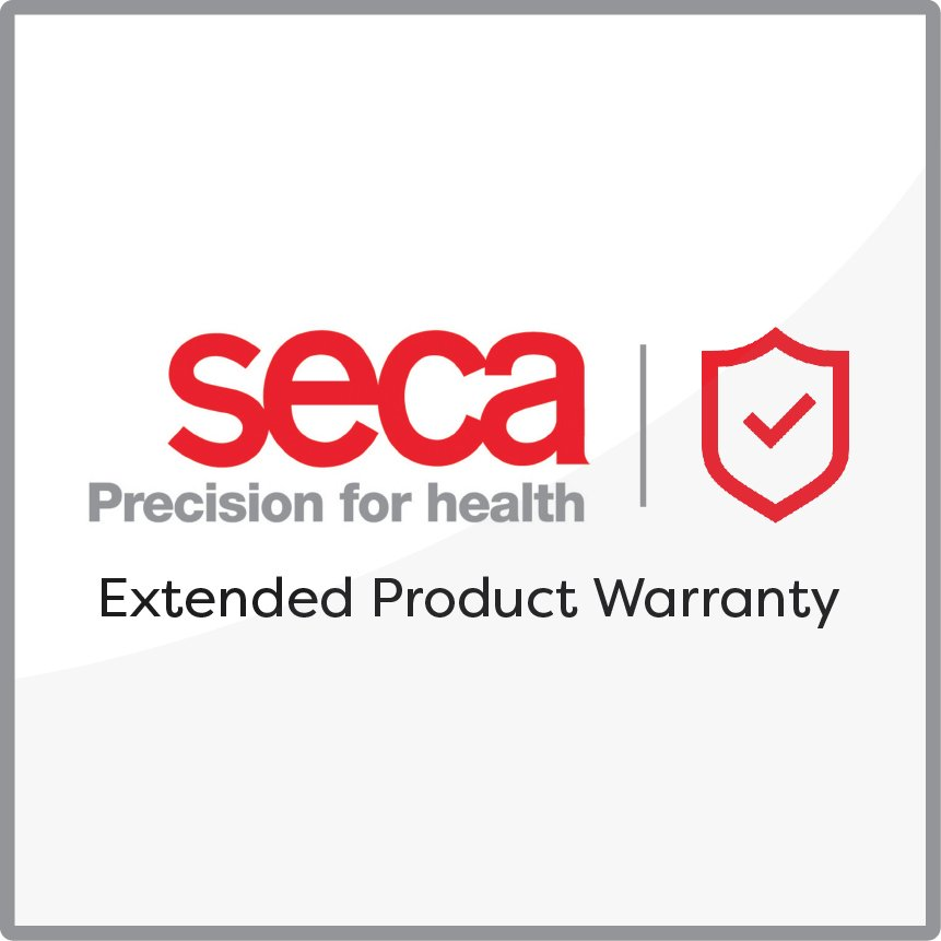 Extended 2 year comprehensive warranty for the seca CTcardioPad Mini