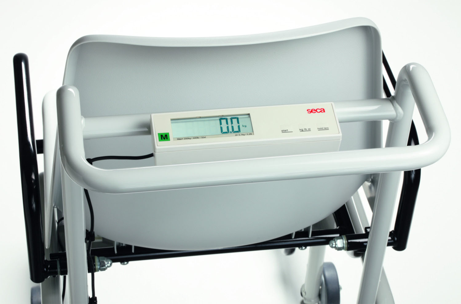 SECA 956 Electronic Chair Scale with Fold Up Armrests