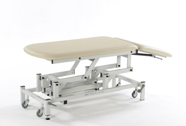 Medicare 2 Section Electric Couch with manual backrest