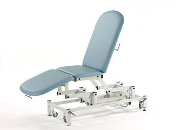 Medicare 3 Section Hydraulic Couch with manual backrest